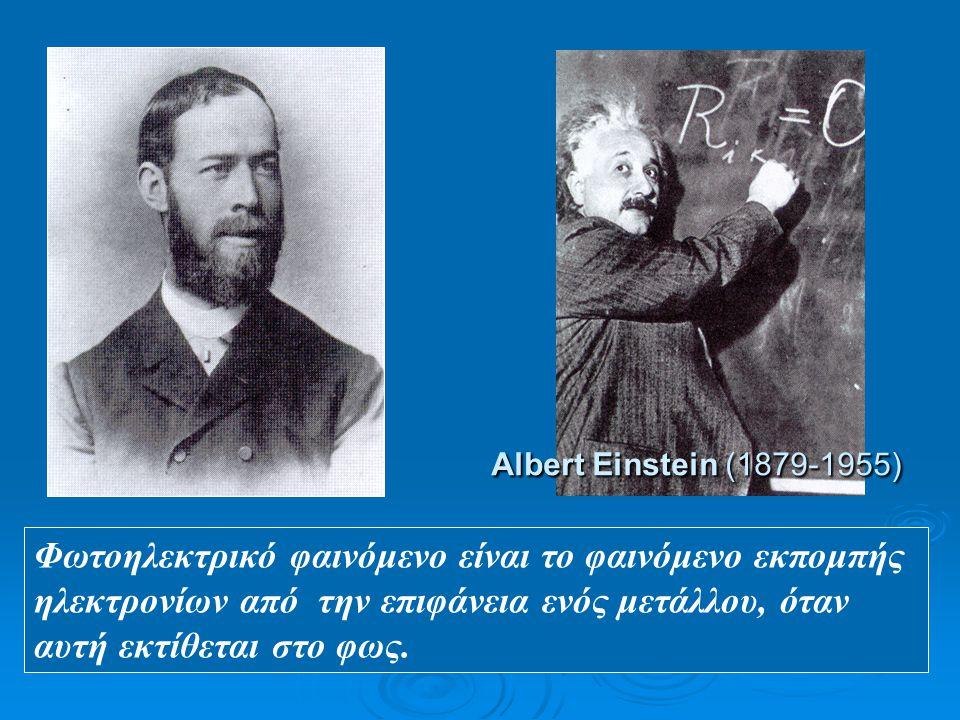 H. Hertz (1857-1894) Albert Einstein (1879-1955)
