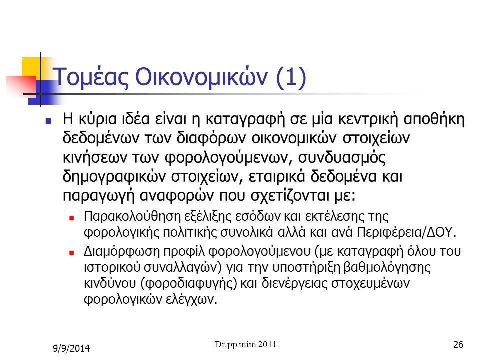 Τομέας Οικονομικών (1)