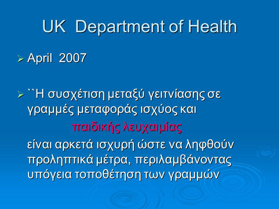UK Department of Health