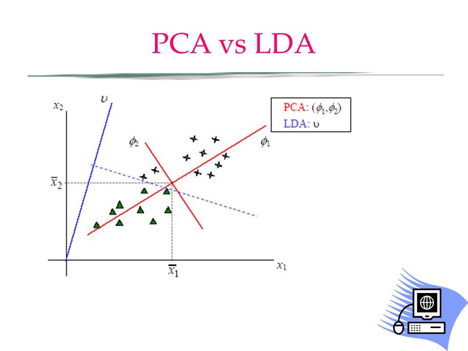 PCA vs LDA