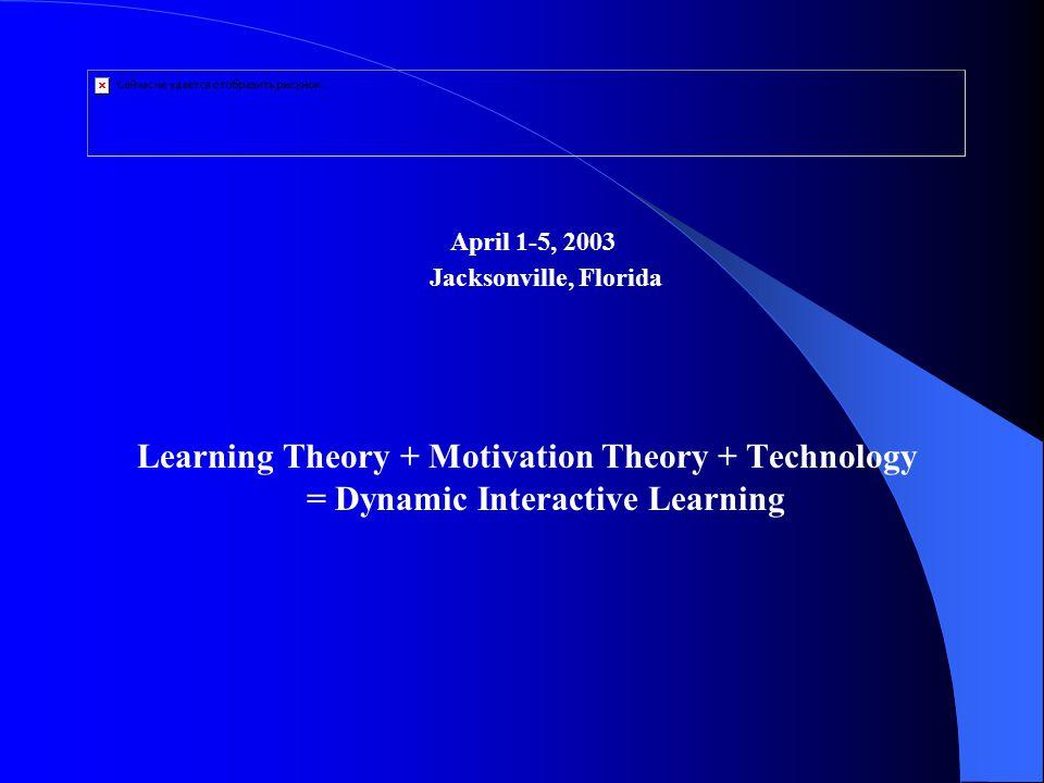 April 1-5, 2003 Jacksonville, Florida