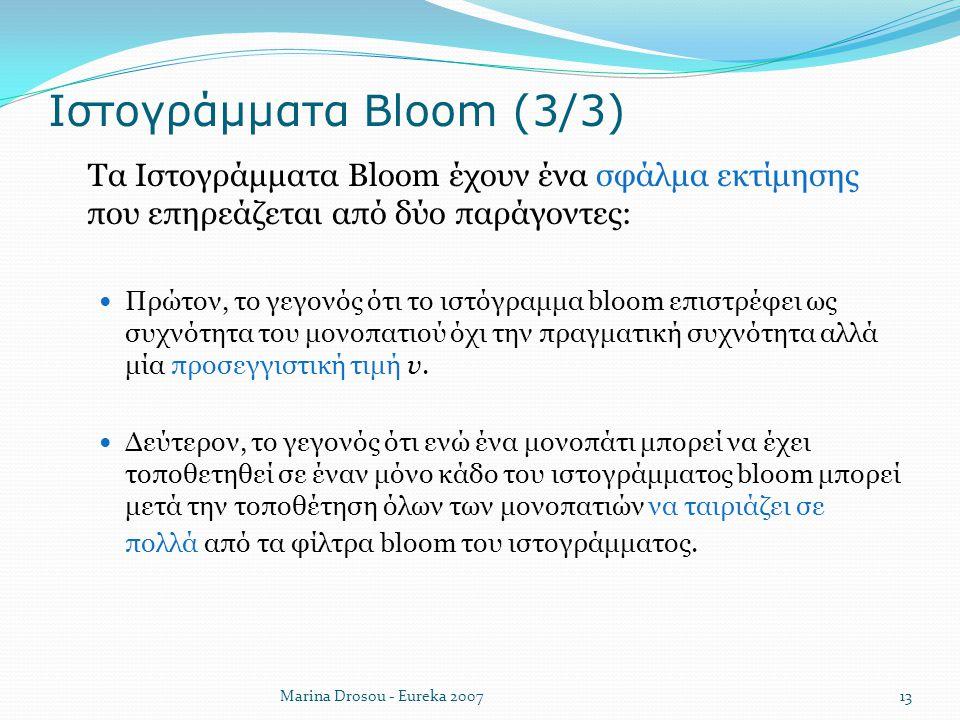 Ιστογράμματα Bloom (3/3)