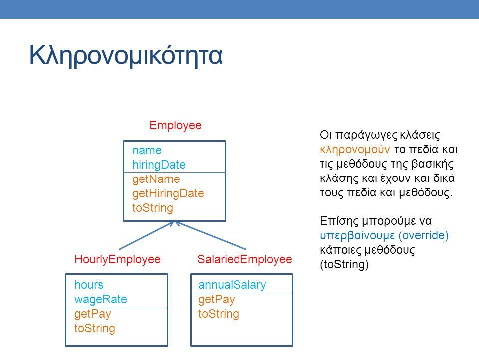 Κληρονομικότητα Employee