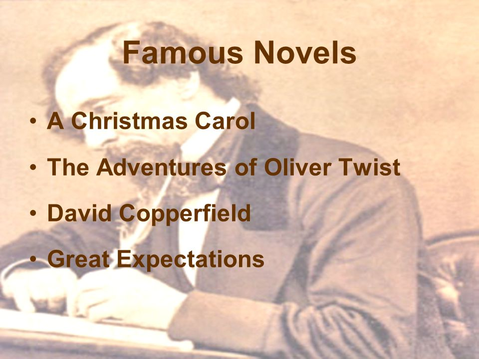 Famous Novels A Christmas Carol The Adventures of Oliver Twist