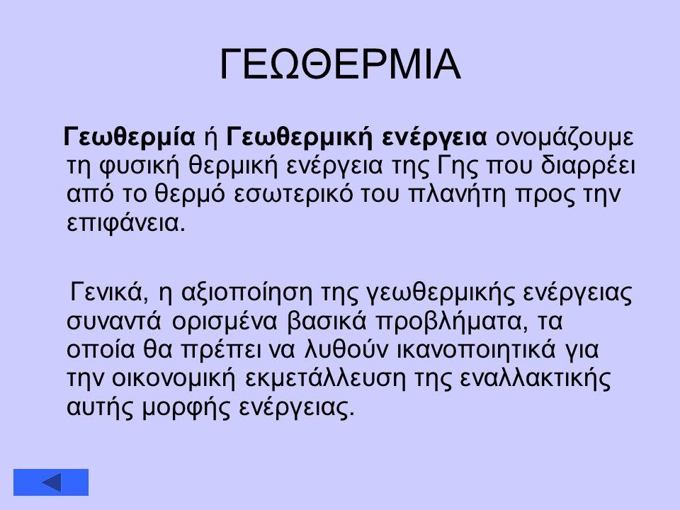 ΓΕΩΘΕΡΜΙΑ
