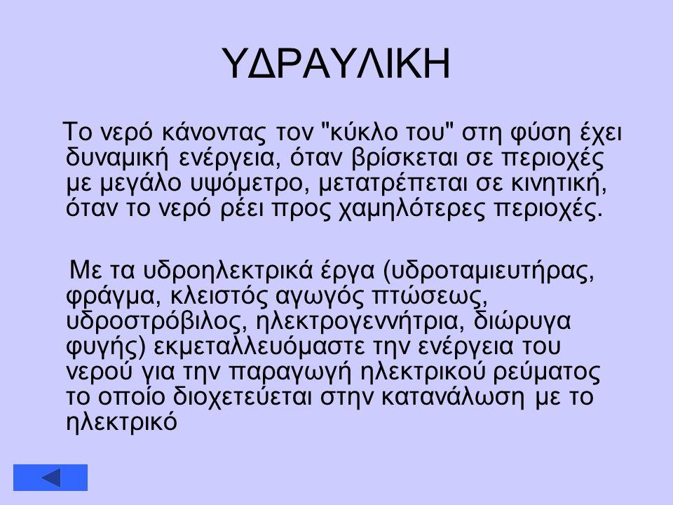 ΥΔΡΑΥΛΙΚΗ