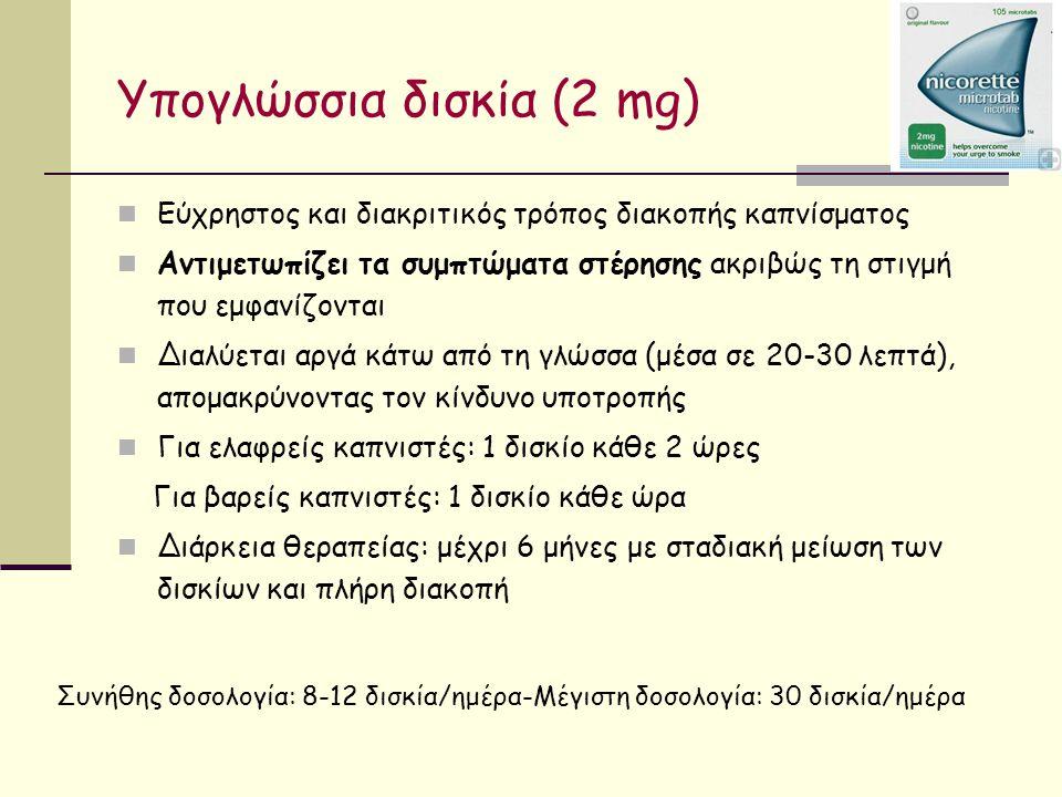 Υπογλώσσια δισκία (2 mg)