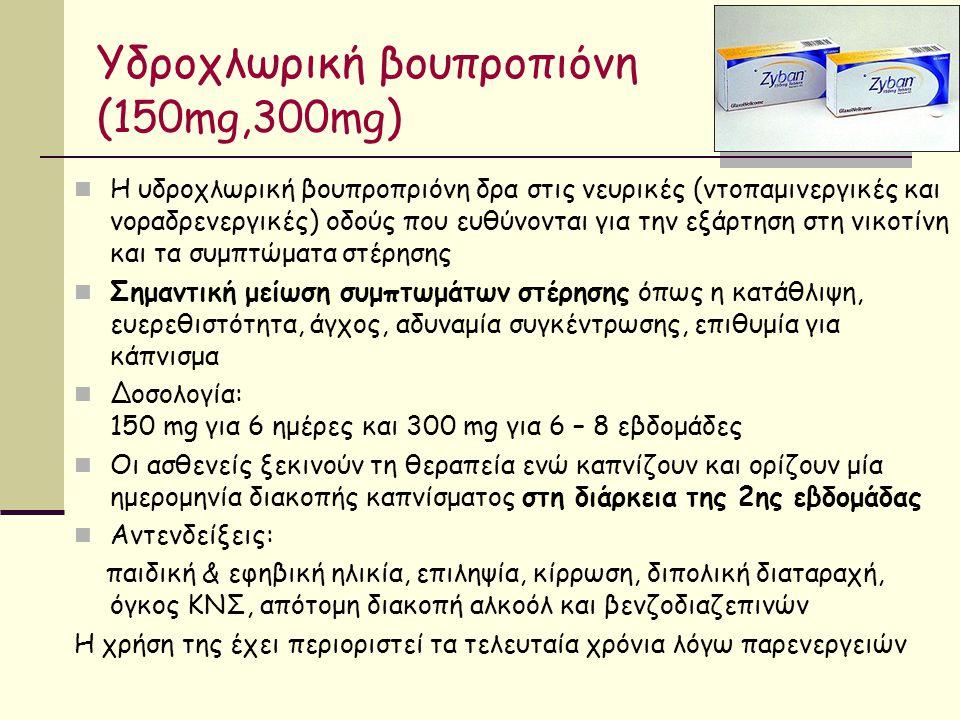 Υδροχλωρική βουπροπιόνη (150mg,300mg)
