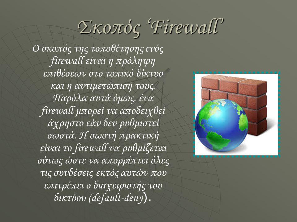 Σκοπός 'Firewall'