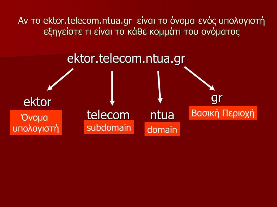 ektor.telecom.ntua.gr gr ektor telecom ntua