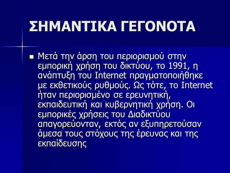 ΣΗΜΑΝΤΙΚΑ ΓΕΓΟΝΟΤΑ