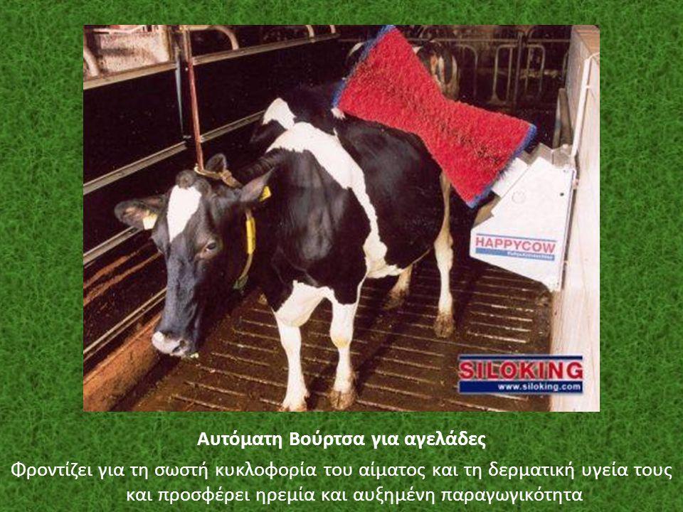 Αυτόματη Βούρτσα για αγελάδες