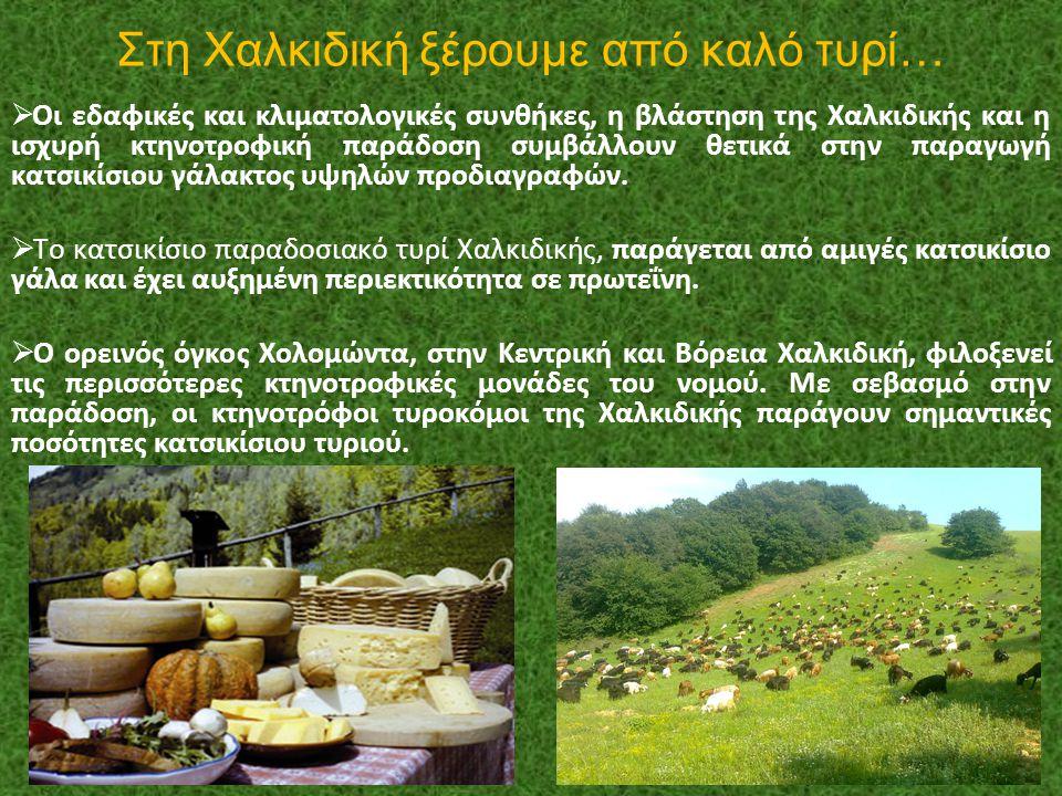 Στη Χαλκιδική ξέρουμε από καλό τυρί…
