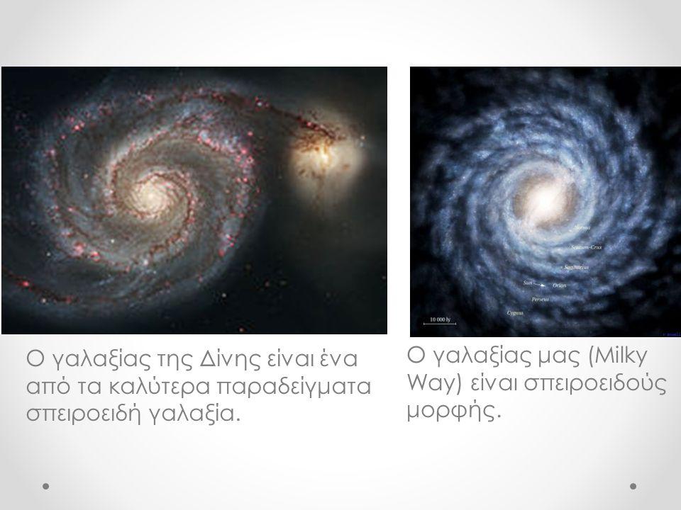 Ο γαλαξίας της Δίνης είναι ένα από τα καλύτερα παραδείγματα σπειροειδή γαλαξία.