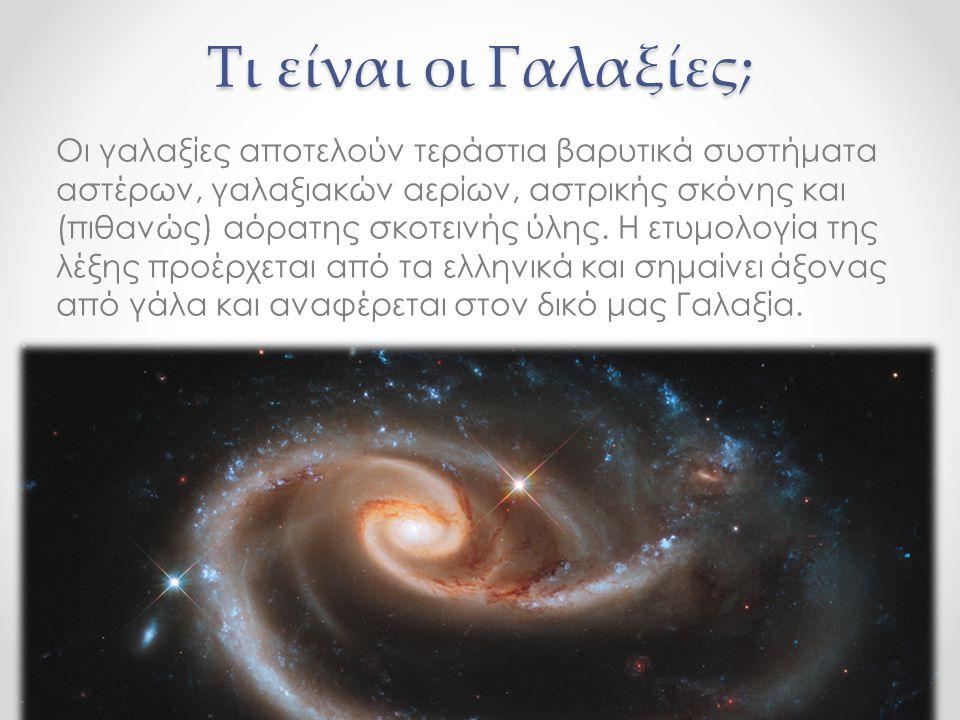 Τι είναι οι Γαλαξίες;