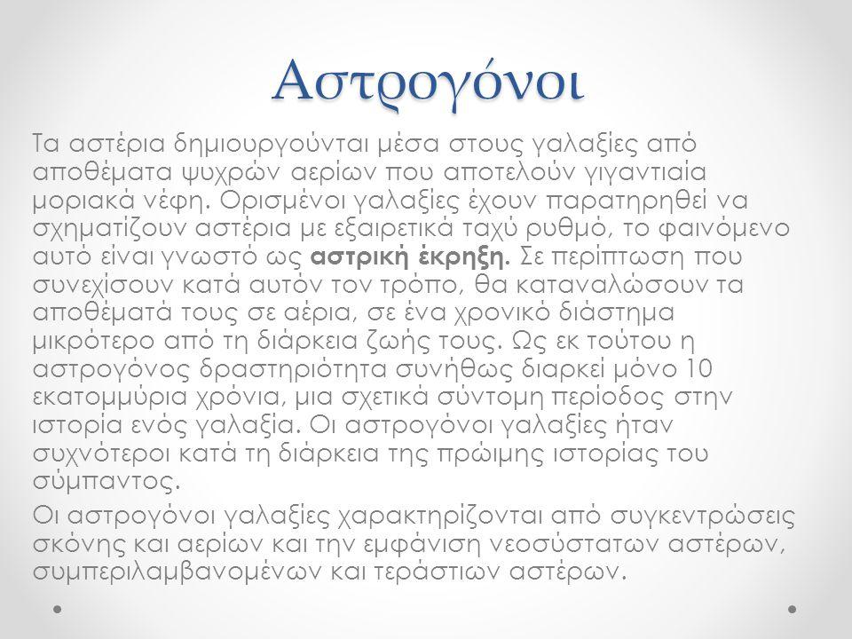 Αστρογόνοι