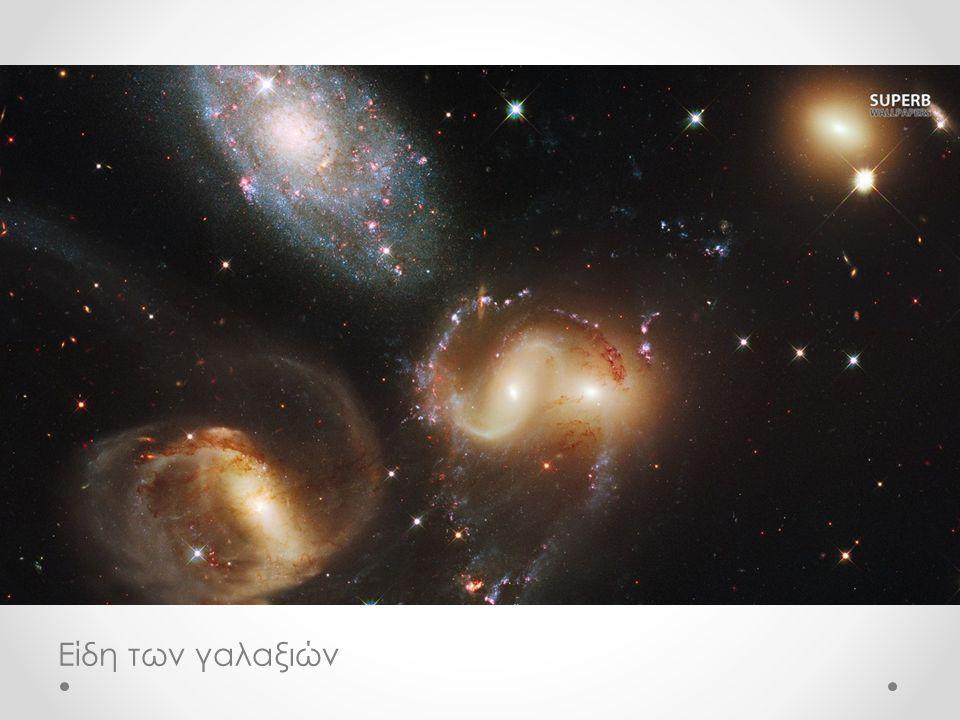 Είδη των γαλαξιών