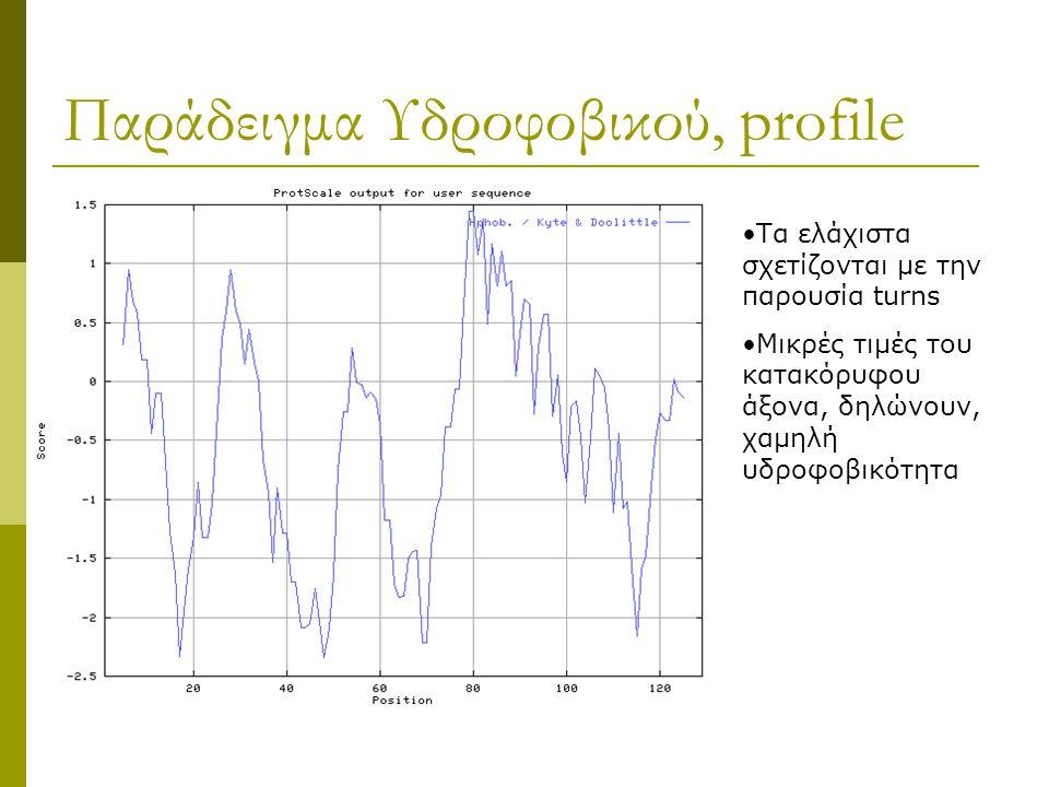 Παράδειγμα Υδροφοβικού, profile