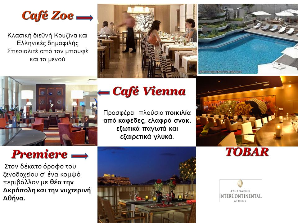 Café Zoe Café Vienna TOBAR Premiere