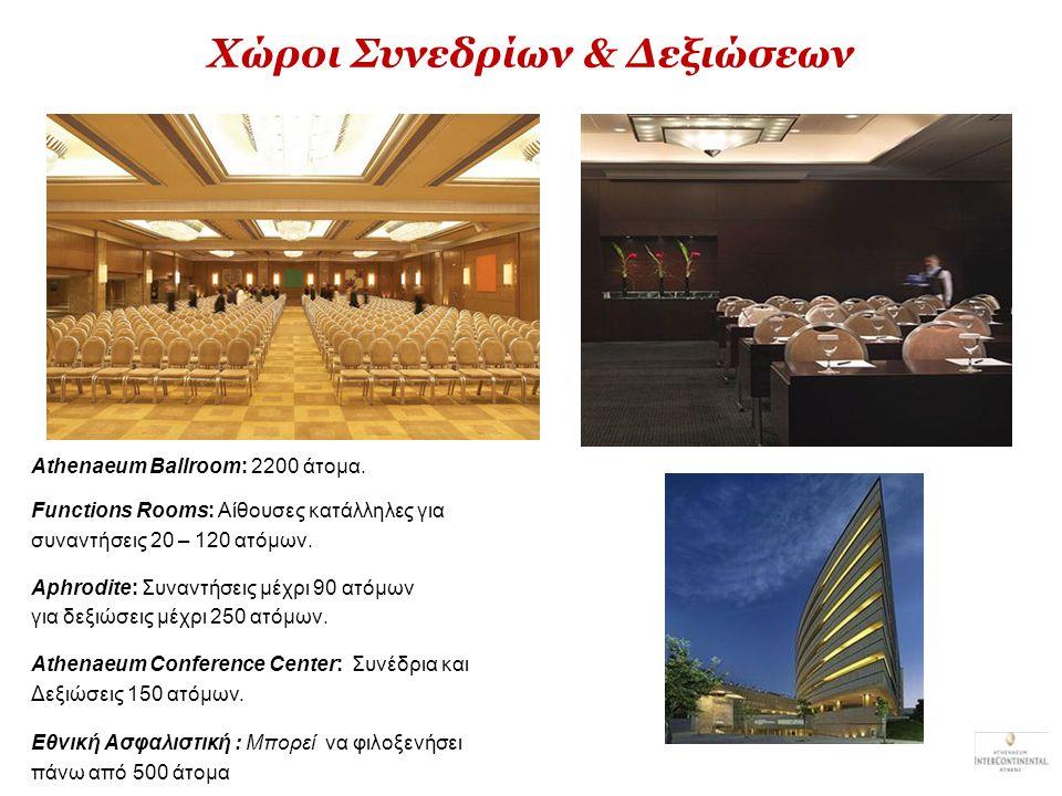 Χώροι Συνεδρίων & Δεξιώσεων