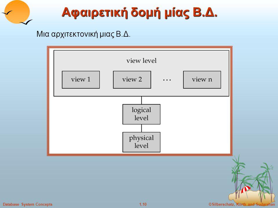 Αφαιρετική δομή μίας Β.Δ.