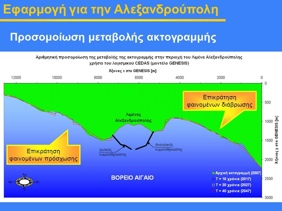 Εφαρμογή για την Αλεξανδρούπολη
