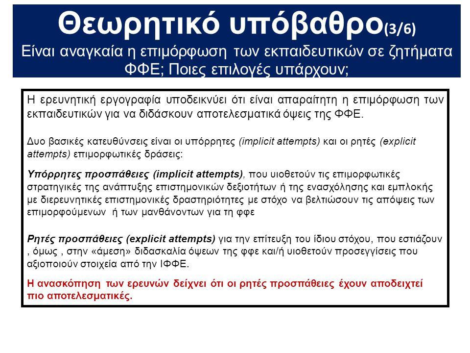 Θεωρητικό υπόβαθρο(3/6)