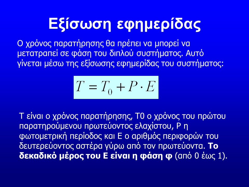 Εξίσωση εφημερίδας