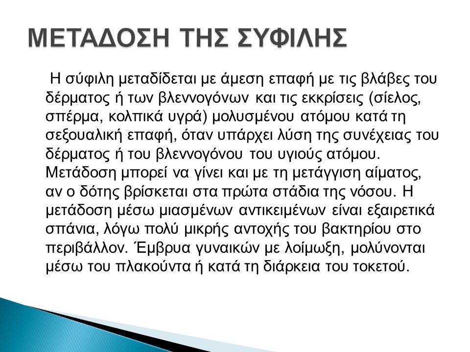 ΜΕΤΑΔΟΣΗ ΤΗΣ ΣΥΦΙΛΗΣ