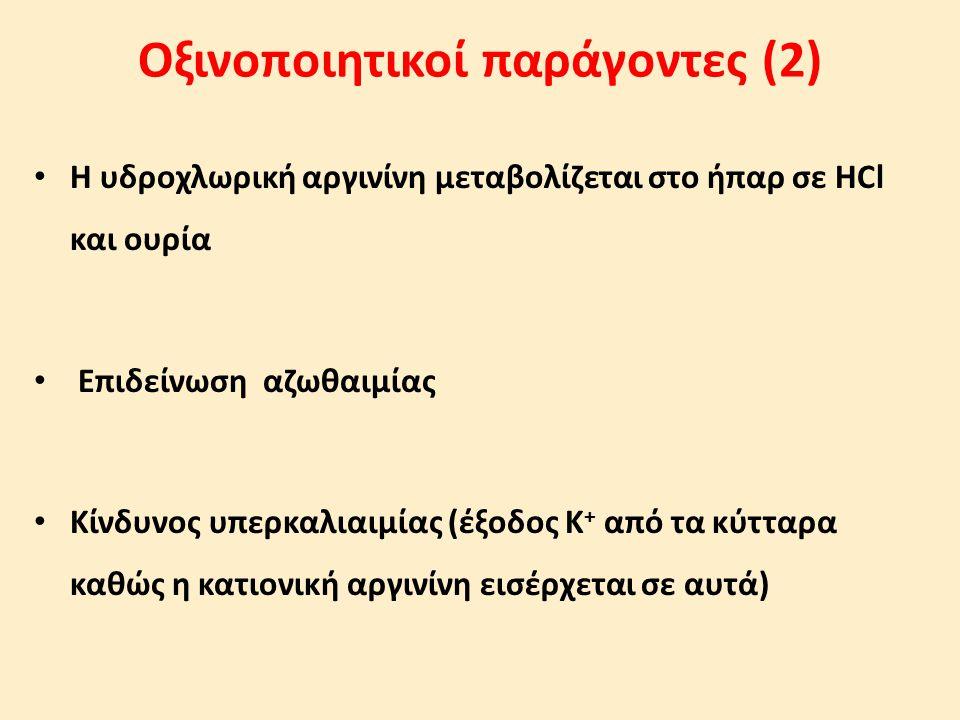 Οξινοποιητικοί παράγοντες (2)