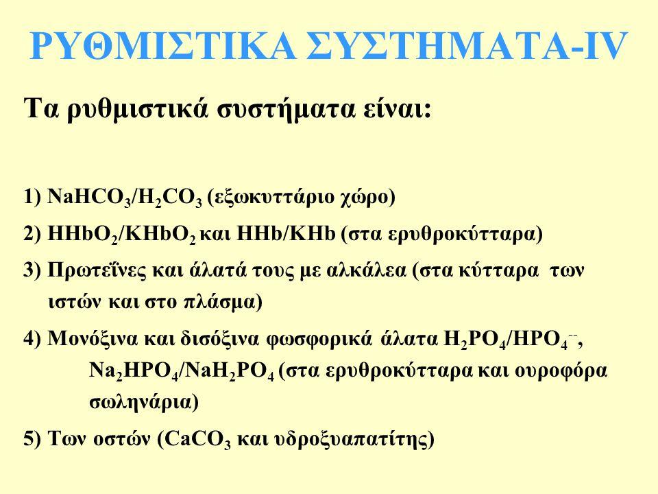 ΡΥΘΜΙΣΤΙΚΑ ΣΥΣΤΗΜΑΤΑ-ΙV