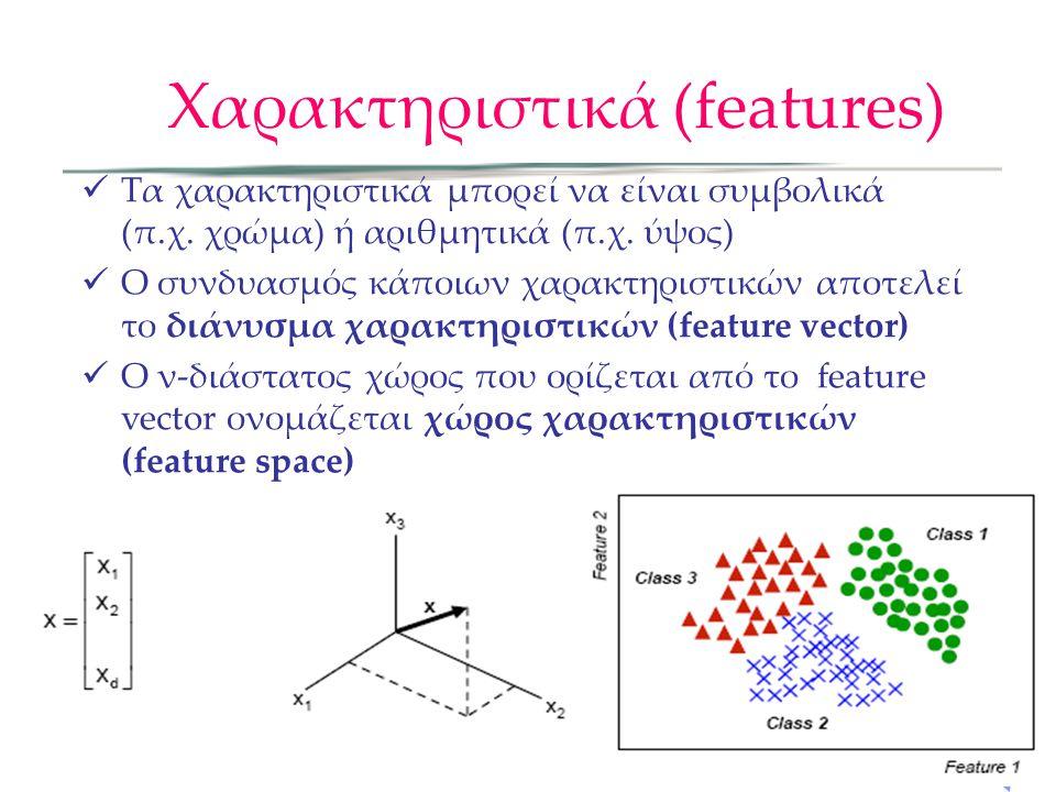 Χαρακτηριστικά (features)