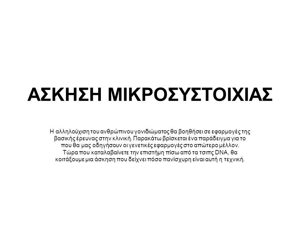 ΑΣΚΗΣΗ ΜΙΚΡΟΣΥΣΤΟΙΧΙΑΣ