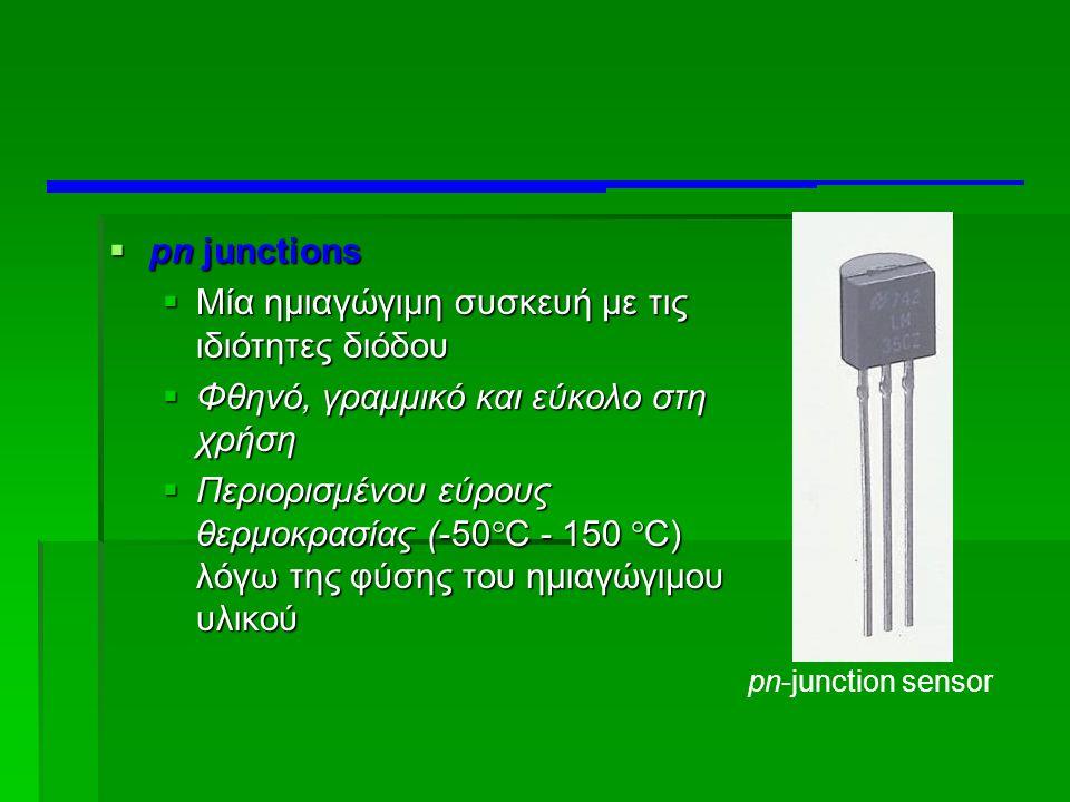 Μία ημιαγώγιμη συσκευή με τις ιδιότητες διόδου