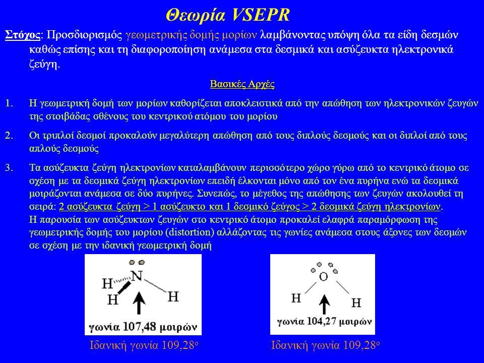 Θεωρία VSEPR