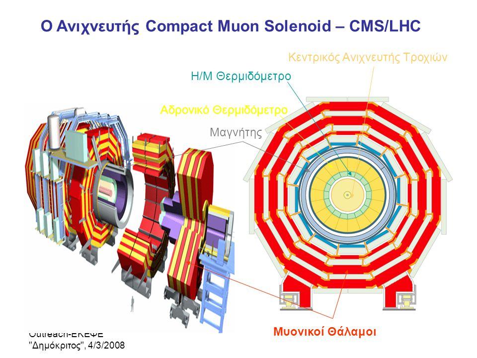 Ο Ανιχνευτής Compact Muon Solenoid – CMS/LHC