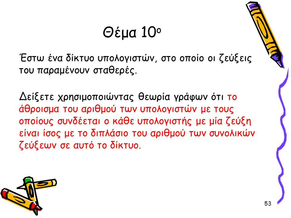 Θέμα 10ο