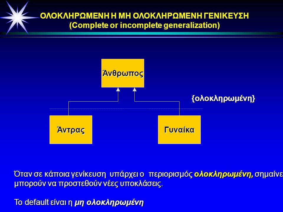 ΣΥΝΑΘΡΟΙΣΗ (ΑGGREGATION)