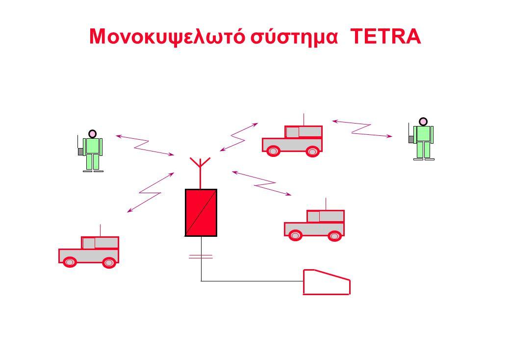 Μονοκυψελωτό σύστημα TETRA