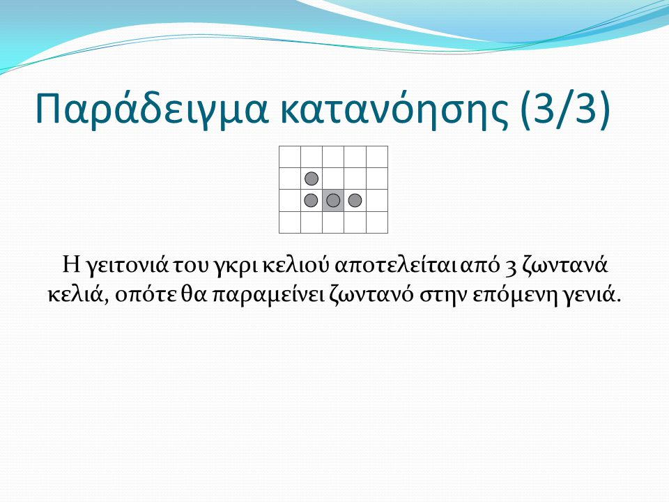 Παράδειγμα κατανόησης (3/3)