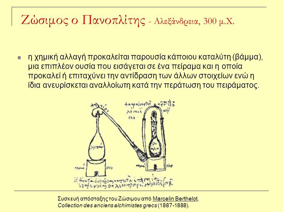 Ζώσιμος ο Πανοπλίτης - Αλεξάνδρεια, 300 μ.Χ.
