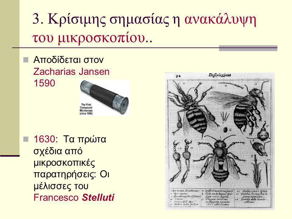 3. Κρίσιμης σημασίας η ανακάλυψη του μικροσκοπίου..