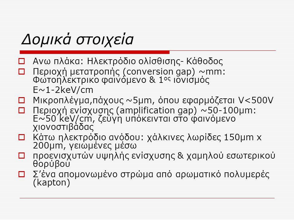 Δομικά στοιχεία Ανω πλάκα: Ηλεκτρόδιο ολίσθισης- Κάθοδος