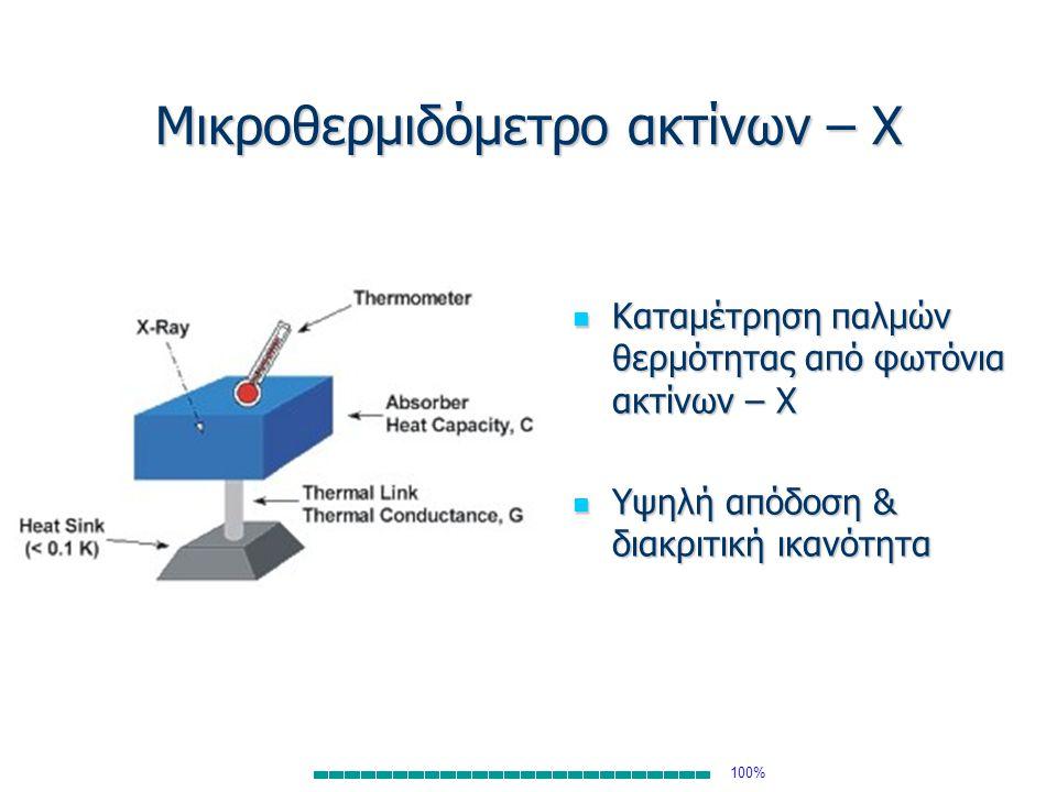 Μικροθερμιδόμετρο ακτίνων – Χ