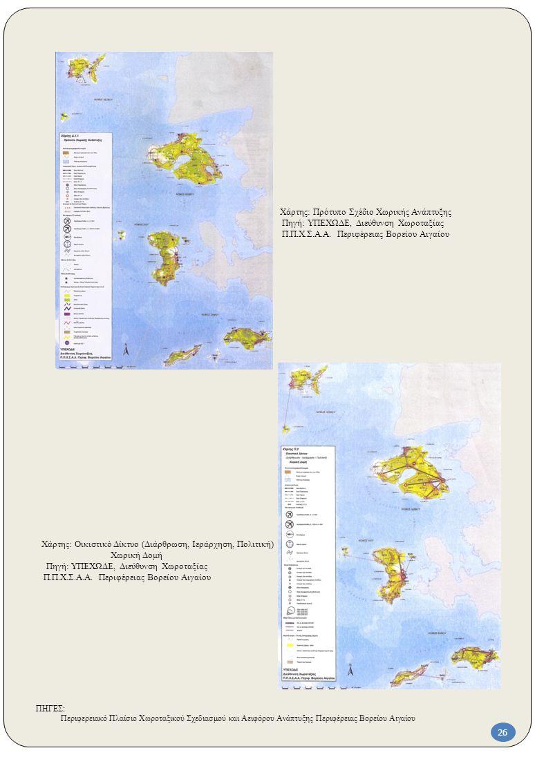 Χάρτης: Πρότυπο Σχέδιο Χωρικής Ανάπτυξης