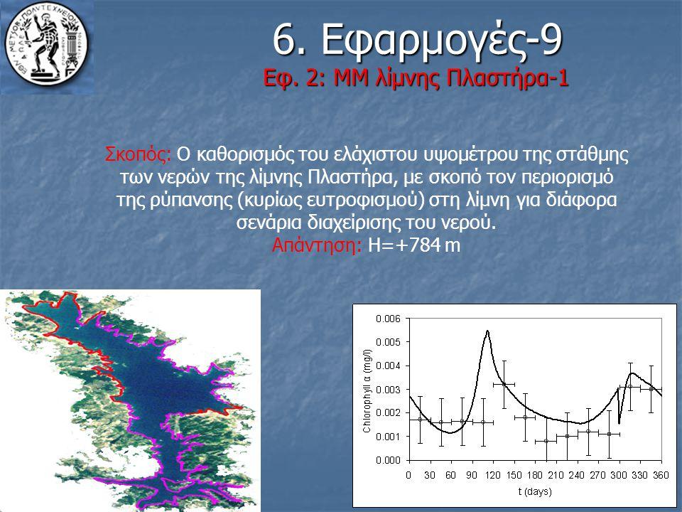 6. Εφαρμογές-9 Εφ. 2: ΜΜ λίμνης Πλαστήρα-1