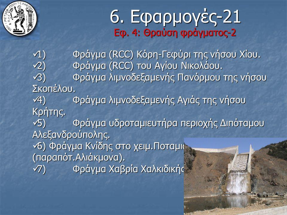 6. Εφαρμογές-21 Εφ. 4: Θραύση φράγματος-2