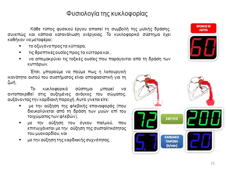 Φυσιολογία της κυκλοφορίας