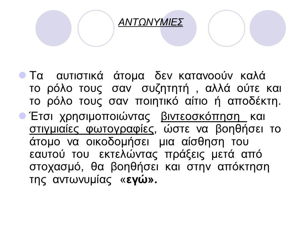 ΑΝΤΩΝΥΜΙΕΣ