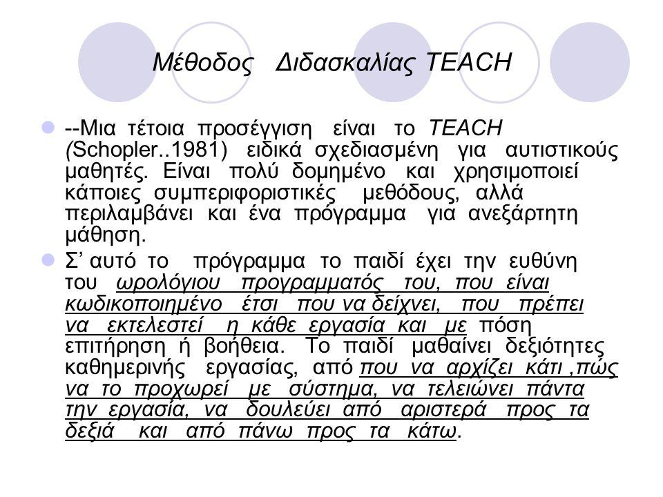 Μέθοδος Διδασκαλίας TEACH